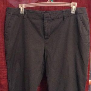 Old Navy gray slacks size 18
